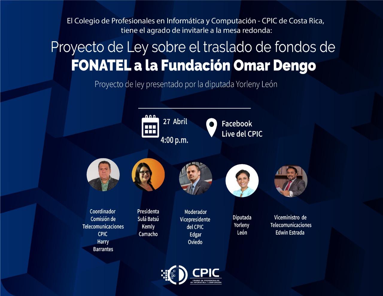 El CPIC organiza exitosa mesa redonda